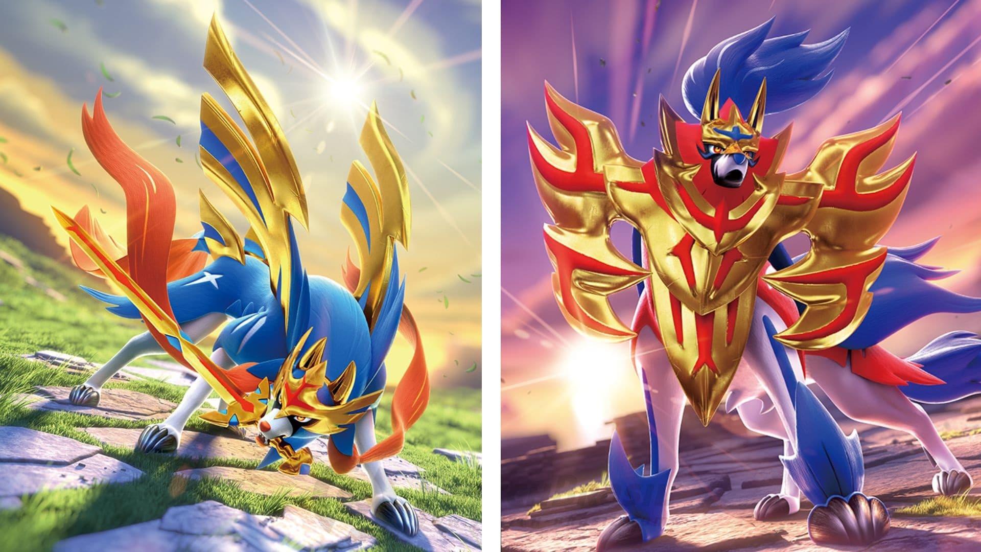Yusuke Omura ha sido el encargado de diseñar a Zacian y Zamazenta, los legendarios de Pokémon Espada y Escudo