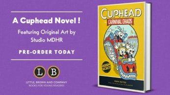 La novela Cuphead in Carnival Chaos será lanzada el próximo 3 de marzo de 2020