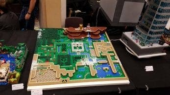 Recrean el mapa de The Legend of Zelda: A Link to the Past con piezas de LEGO