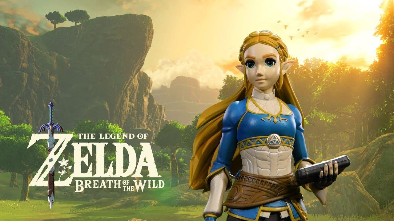 First 4 Figures anuncia una figura de Zelda en Breath of the Wild
