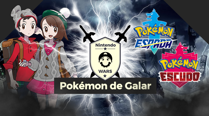 ¡Arranca Nintendo Wars: Pokémon de Galar!