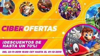 Lista completa de títulos rebajados en las Ciberofertas 2019 de Nintendo