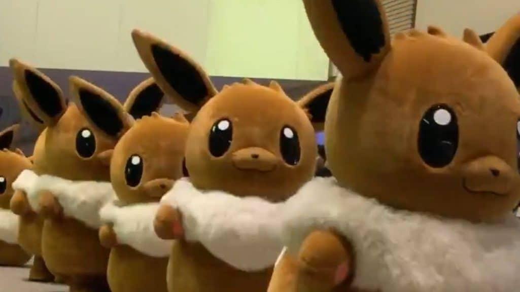 Echad un vistazo al Desfile del Día de Eevee que ha celebrado The Pokémon Company en diversos centros comerciales de Japón