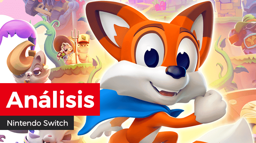 [Análisis] New Super Lucky's Tale para Nintendo Switch