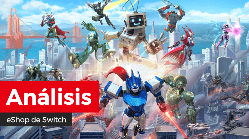 [Análisis] Override: Mech City Brawl para Nintendo Switch