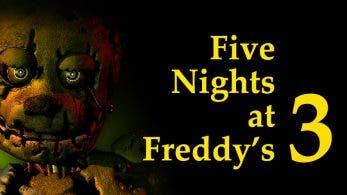 Five Nights at Freddy's 3 llega el 29 de noviembre a Nintendo Switch