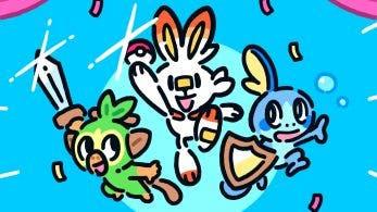 James Turner, director artístico de Pokémon Espada y Escudo, celebra su lanzamiento con esta imagen