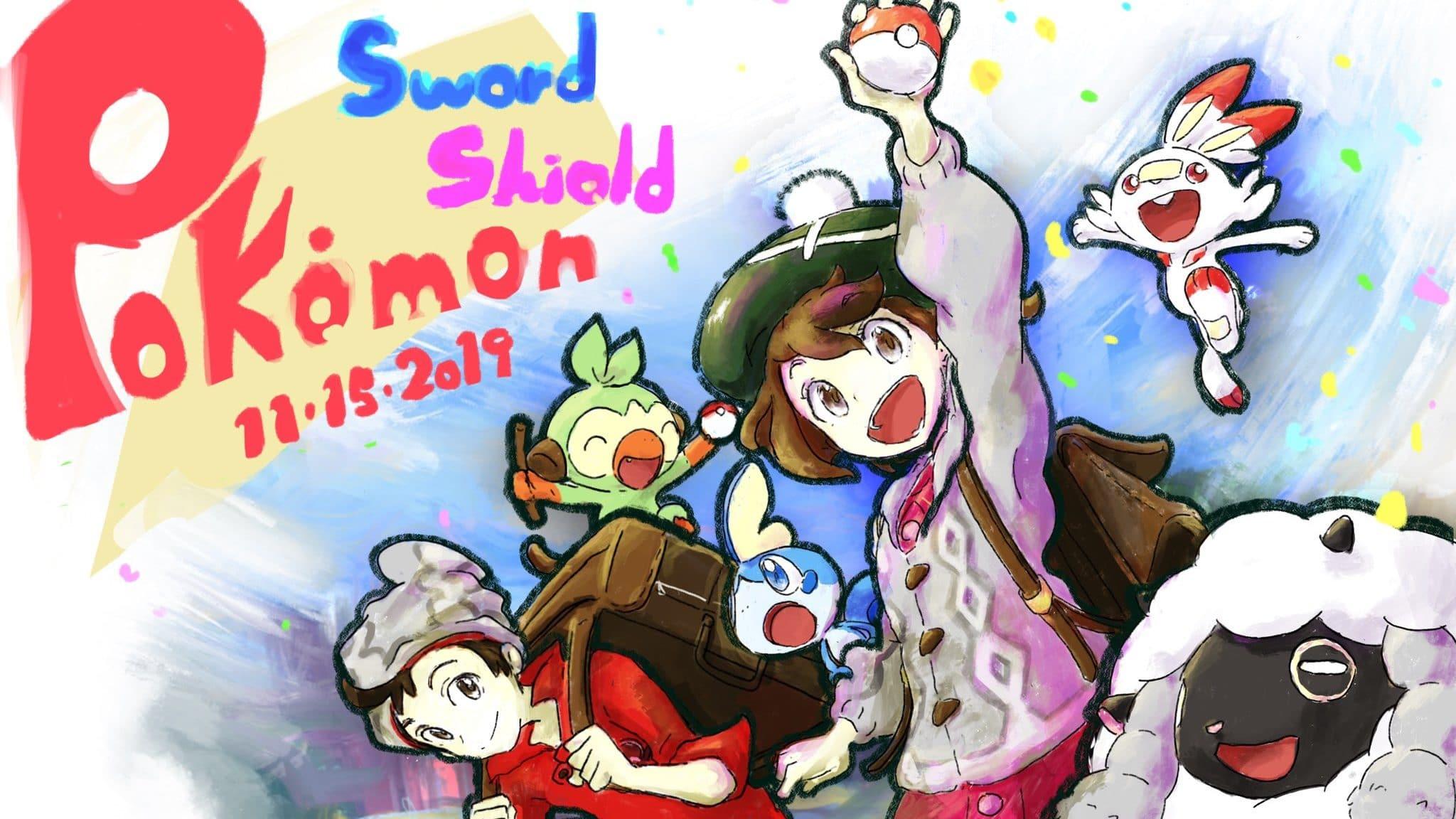 Shigeru Ohmori, director de Pokémon Espada y Escudo, celebra el estreno del juego con este arte