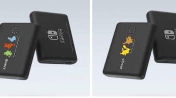 Anker anuncia dos modelos de baterías portátiles PowerCore 13400 Pokémon Limited Edition para Japón