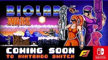 Biolab Wars confirma su estreno en Nintendo Switch para la próxima semana
