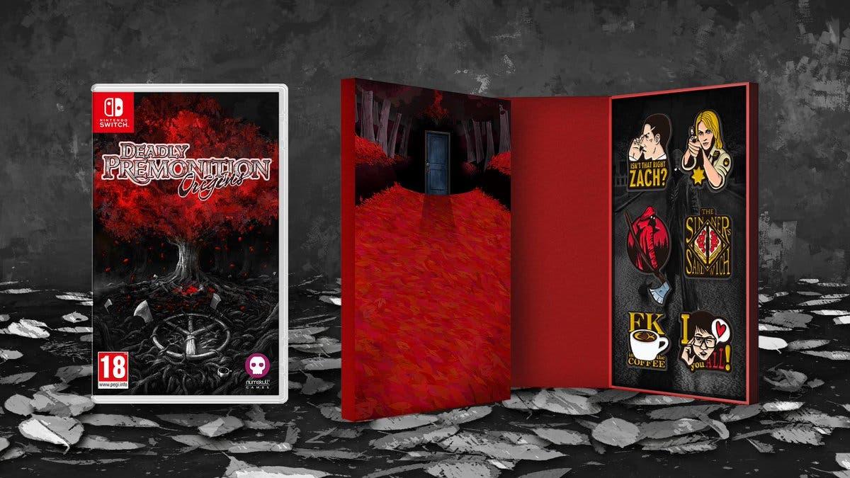La versión física de Deadly Premonition Origins para Nintendo Switch se lanza el 22 de noviembre en Europa