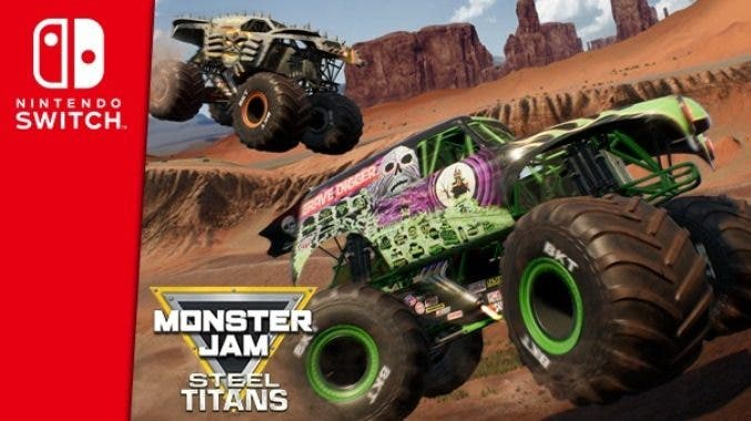 Monster Jam Steel Titans confirma su estreno en Nintendo Switch