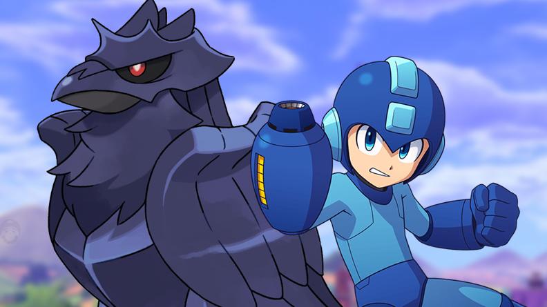 Corviknight de Pokémon Espada y Escudo fue diseñado por el artista del manga oficial de Mega Man
