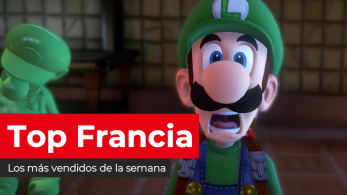 Luigi's Mansion continúa arrasando en las Nintendo Switch y Nintendo 3DS francesas (23/12/19)