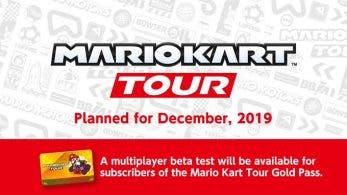 Mario Kart Tour confirma una beta multijugador para diciembre