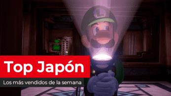 Ventas de la semana en Japón: Luigi's Mansion 3 se mantiene como lo más vendido de Nintendo (13/11/19)