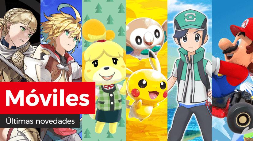 Novedades para móviles en Fire Emblem Heroes, Animal Crossing: Pocket Camp, Dragalia Lost, Pokémon Rumble Rush, Pokémon Masters y Mario Kart Tour