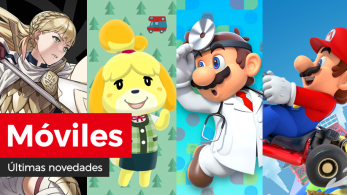 Novedades para móviles: Nuevos héroes: Vigías de la paz y más en Fire Emblem Heroes, retos de peces dorados en Animal Crossing: Pocket Camp, avance de fases en Dr. Mario World y detalles y tráiler del tour de invierno en Mario Kart Tour