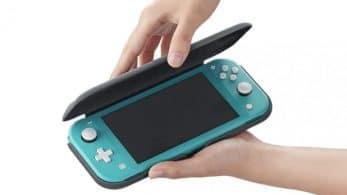 Nintendo también lanzará su funda oficial para Switch Lite en América