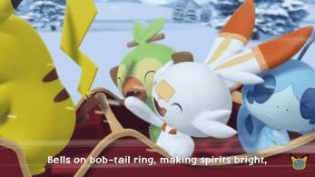 Pokémon Kids TV comparte una canción navideña con Grookey, Scorbunny y Sobble