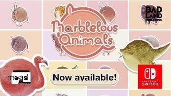 Marblelous Animals ya está disponible en Nintendo Switch