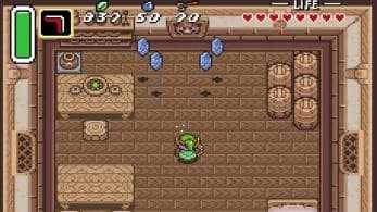 The Legend of Zelda: A Link to the Past cuenta con 12 objetos que podemos «agarrar» para obtener rupias ocultas