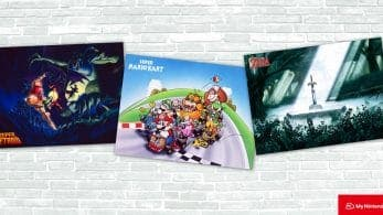 Ya disponibles en My Nintendo Store un conjunto de pósters de Super Mario Kart, Super Metroid y The Legend of Zelda: A Link to the Past