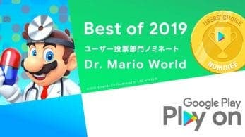 Dr. Mario World y Mario Kart Tour son nominados a los Google Play Awards 2019