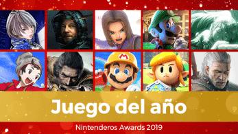 Nintenderos Awards 2019: ¡Vota ya por el Juego del año!