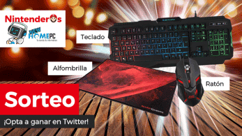 [Act.] ¡Sorteamos este pack gaming de teclado + ratón + alfombrilla junto a New Home PC!