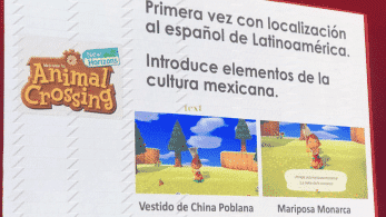 Animal Crosssing: New Horizons vendrá localizado al español latino e introducirá elementos de la cultura mexicana