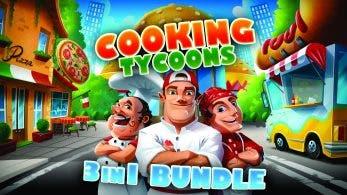 Cooking Tycoons – 3 in 1 Bundle confirma su estreno en Nintendo Switch para el 10 de enero
