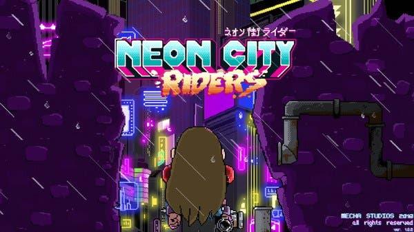 Neon City Riders llegará a Nintendo Switch a principios de 2020