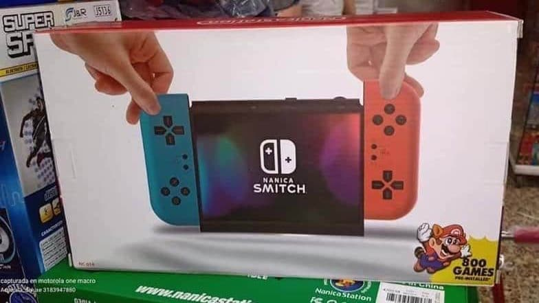 Conoce Nanica Smitch, el último y descarado plagio de Nintendo Switch