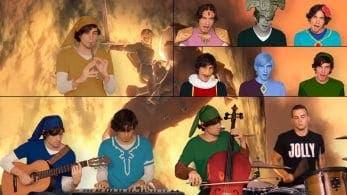 Este medley mezcla temas de los diferentes Zeldas de forma extraordinaria