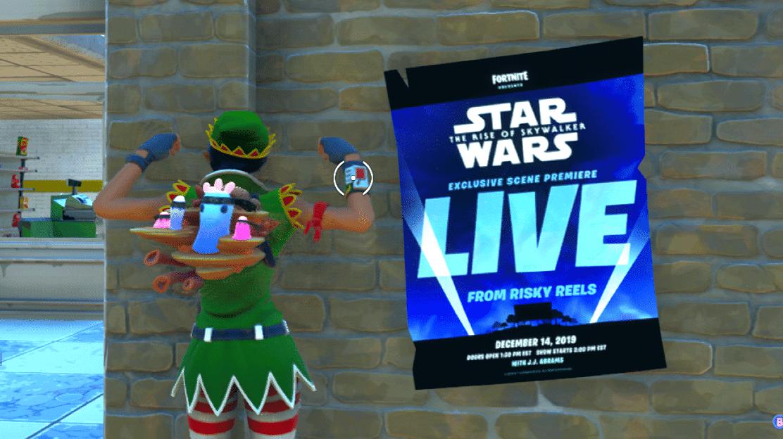 Fortnite Emitirá En Directo Una Escena Inédita De Star Wars El Ascenso De Skywalker Nintenderos Nintendo Switch Switch Lite Y 3ds