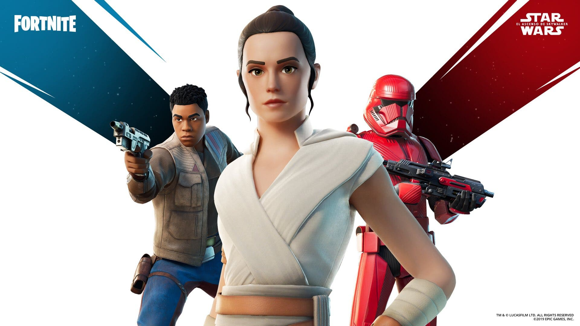 Fortnite recibe skins de Star Wars: El ascenso de Skywalker