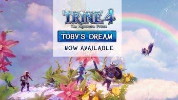 Ya disponible el nuevo DLC gratuito de Trine 4: The NightmarePrince para Nintendo Switch