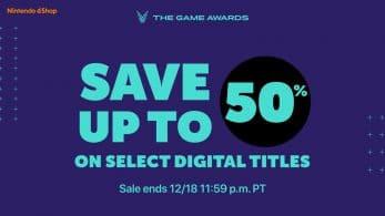 Nintendo lanza una nueva promoción en la eShop con motivo de los Game Awards