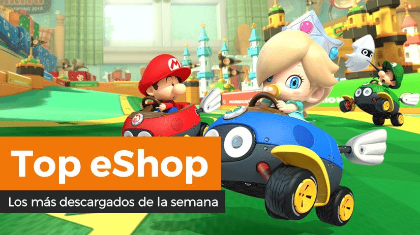 Mario Kart 8 Deluxe se mantiene como lo más descargado de la semana en la eShop de Nintendo Switch (11/1/20)