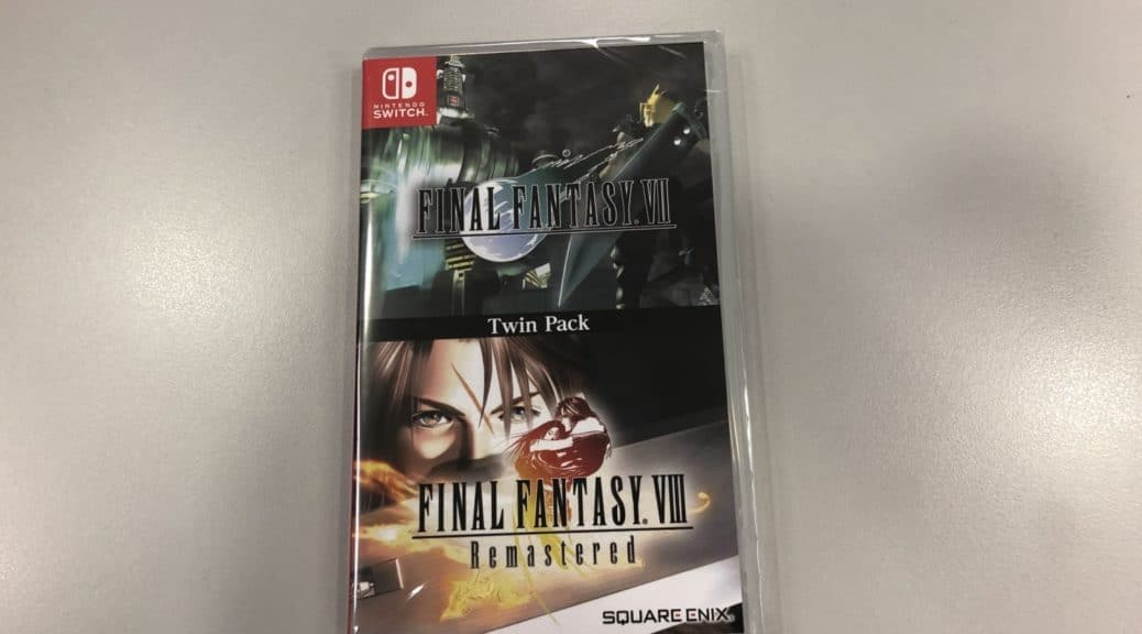 [Act.] Primer unboxing del Final Fantasy VII & VIII Remastered Twin Pack
