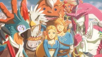 Nyel, Teba, Riju, Yunobo y Sidon protagonizan este genial fan-art de Zelda: Breath of the Wild