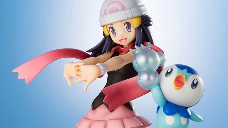 Nuevas imágenes de la figura Pokémon de Maya y Piplup y reserva ya disponible