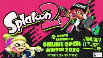 El 11 de enero tendrá lugar el North American Online Open Winter 2020 de Splatoon 2