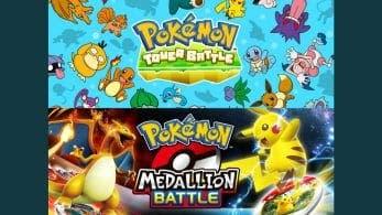 Lanzados nuevos juegos Pokémon en Facebook Gaming: Pokémon Tower Battle y Pokémon Medallion Battle