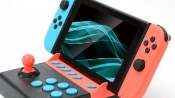 Convierte tu Nintendo Switch en una recreativa portátil con el Mini Arcade Stick de Gametech