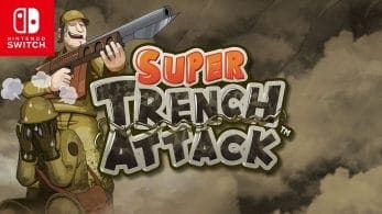 PixelHeart lanzará mañana Super Trench Attack en Nintendo Switch