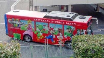 Echa un vistazo a estas fotos del autobús de Super Nintendo World en Japón