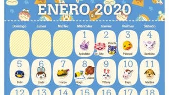 My Nintendo ofrece un calendario de cumpleaños imprimible de Animal Crossing en Europa