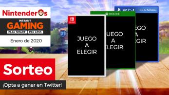 ¡Sorteamos el juego que tú quieras de cualquier plataforma junto a Instant Gaming!